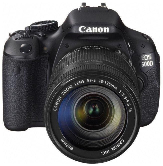 Hong Kong version of King Canon EOS 600D set (including 18-135is lens) digital SLR camera