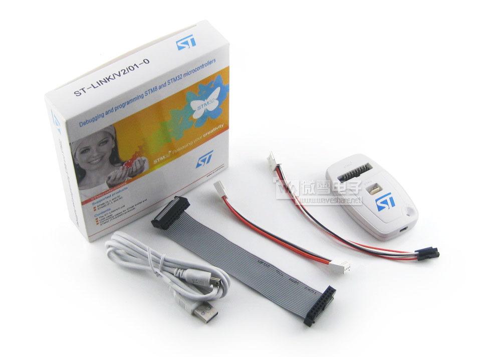 ST ST-LINK/V2 (CN) STLINK STM8 STM32 моделирование устройство скачать устройство подлинный