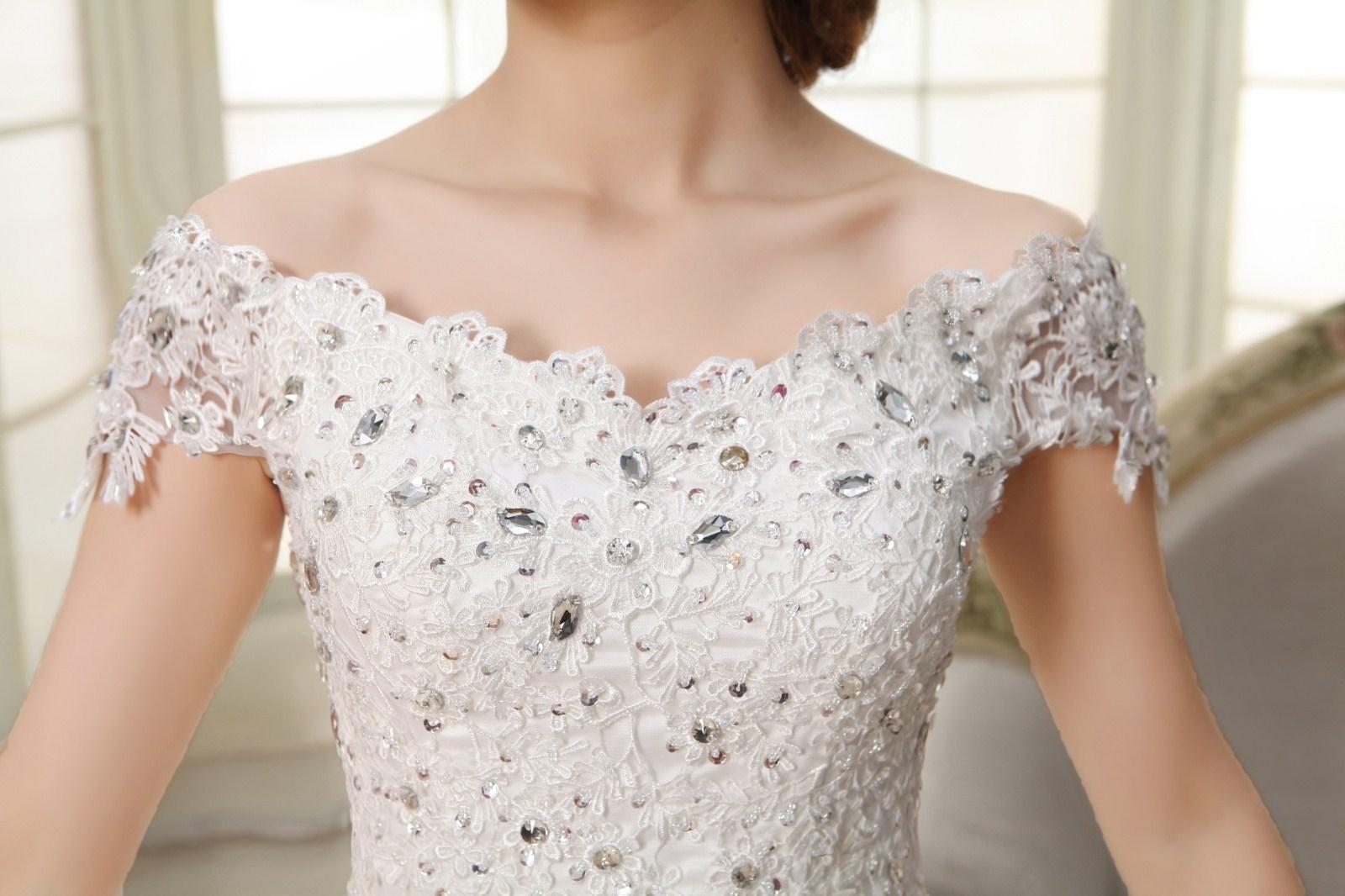 2014 новая группа slim Свадебные платья Свадебные платья одно плечо кружева выровнять конечные Корейский моды