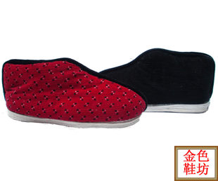 Melaleuca traditional handmade cloth shoes two tile bottom shoes home shoes lined with two color color random 35 45