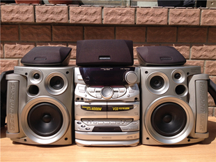 original used stereo kenwood xd v919 high power stereo system can be accessed by computer 4000w. Black Bedroom Furniture Sets. Home Design Ideas