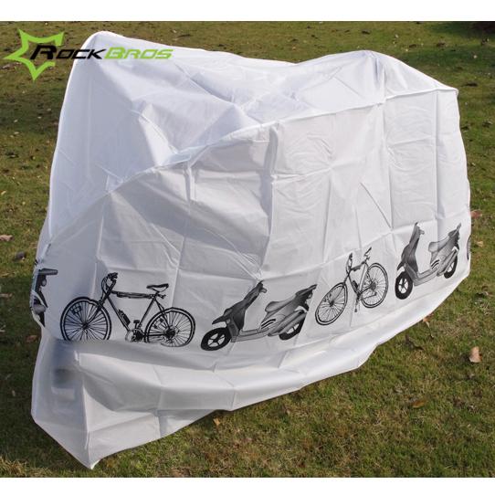 ROCKBROS велосипед дождь капот автомобиля электромобиль шитье горный велосипед пыленепроницаемый противо серый крышка солнцезащитный крем крышка оборудование