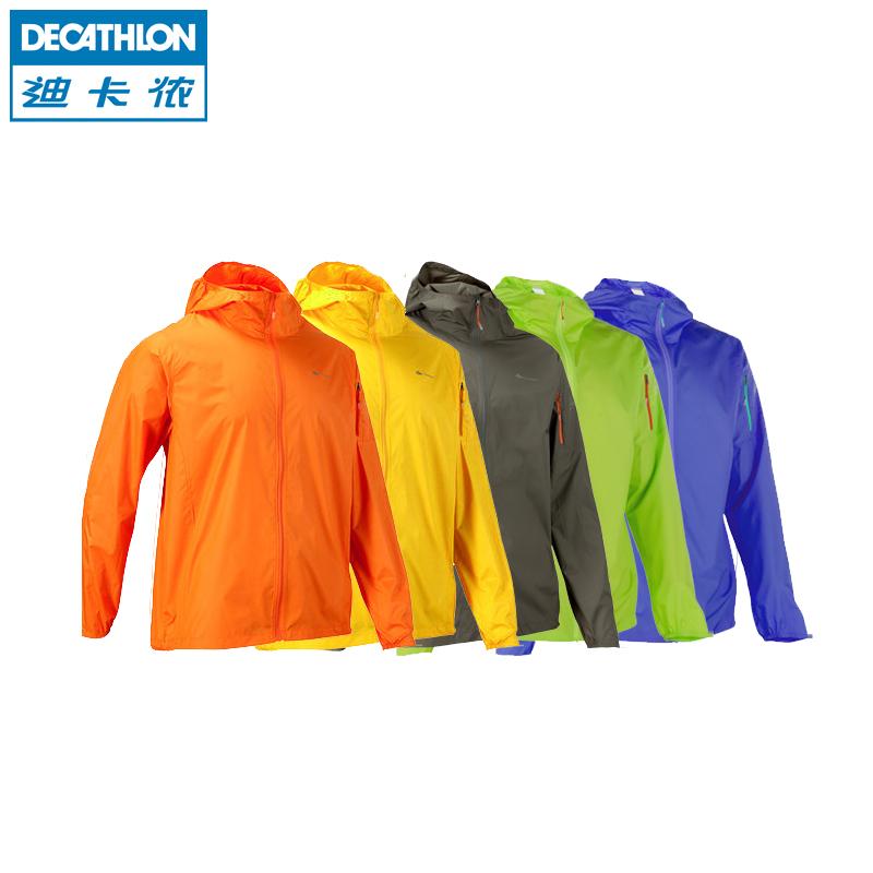 Decathlon подлинная кожа ультра легкий воздухопроницаемый ветровка мужчин и женщин весной и летом открытый спортивные любителей КЕЧУА