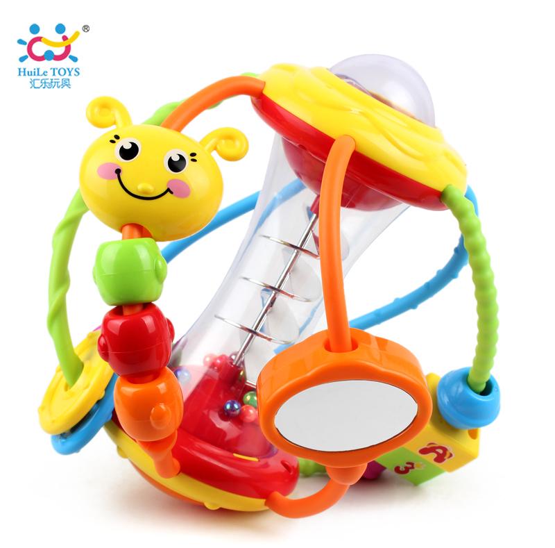 彙樂929健兒球嬰兒玩具球3~6~12個月早教益智寶寶手抓球搖鈴0~1歲