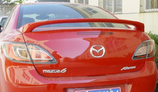 The new Mazda 6 Rui wing wing Mazda wing horse 6ABS Core wing coupe tail fin