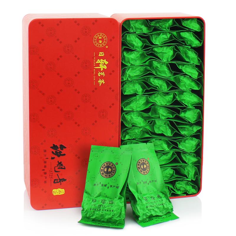 Tieguanyin чай вкус премиум Улун чай в Anxi tie Гуань Инь чай Подарочная коробка Xuan «купить один, получить два»