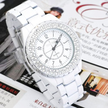 Special ceramic strap diamond fashion female table in 2015, the new three stitches pointer ms quartz watches