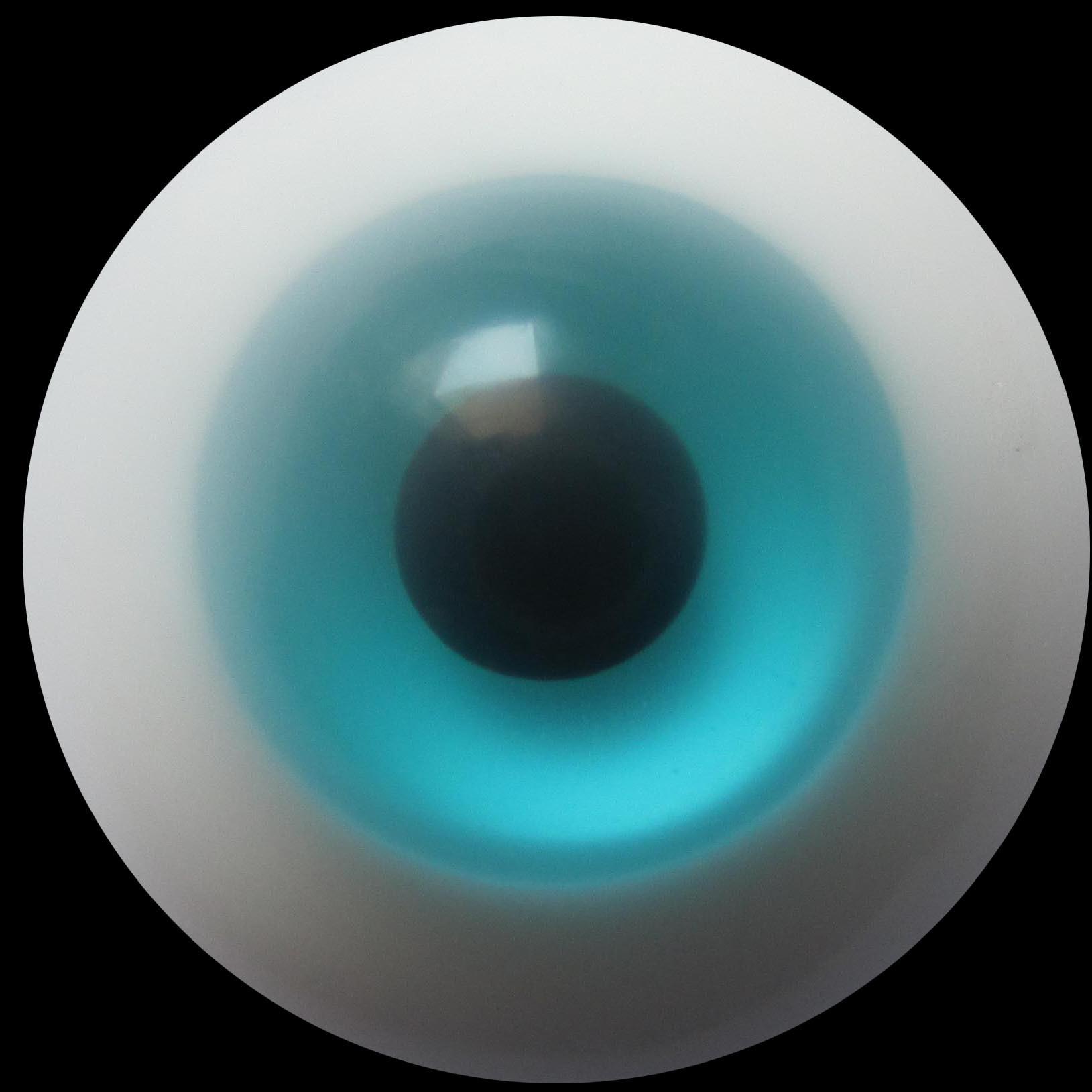 订做bjd、sd、可儿、自制娃娃淡兰色玻璃眼睛珠,尺寸8MM至20MM
