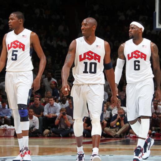 美国USA梦之队篮球服套装男 詹姆斯欧文库里球衣 篮球背心定制DIY