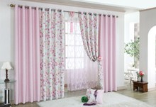New small Korean fresh flower stitching finished curtains wide 240 * 240 high now 48 yuan/piece (including punching fee)