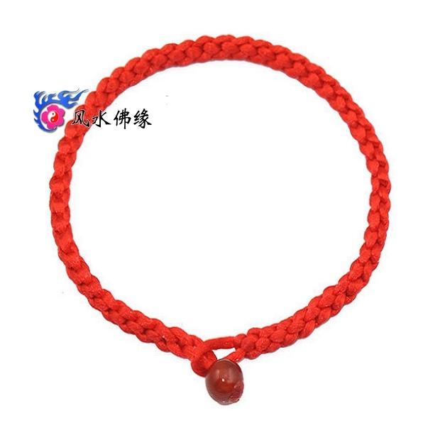 Реабилитация удачи браслет алмазов узел 2016 с красный агат красный веревку удачи слишком сплетенный рукой ремень