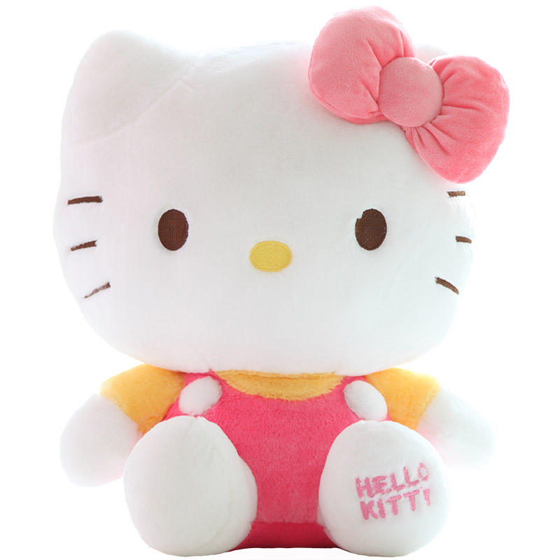 Genuine Hellokitty Kt Cat Hello Kitty Plush Toy Doll Pillow Doll