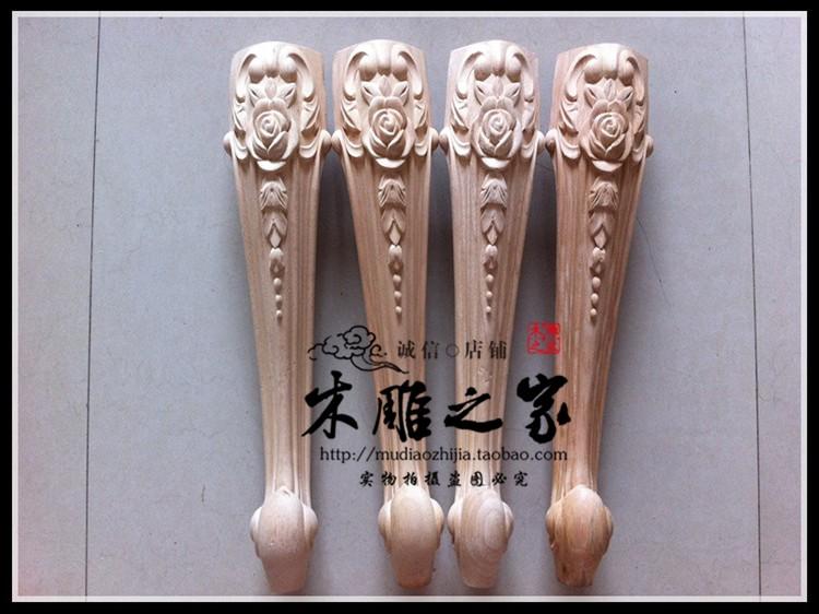 Dongyang резьбы дрессера Тигр обеденный стол ноги дерева стол ноги стиль Роза резная мебель диван-кровать