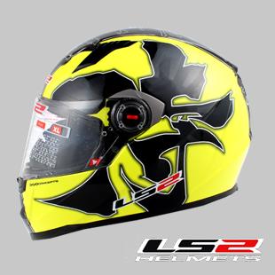 Новые Подлинная высокого класса LS2 двойные линзы стекла волокна запустить мотоцикл велосипед грязи безопасности шлем анфас шлем шлем мужчины