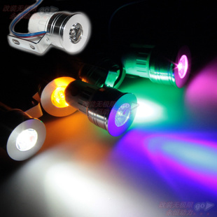 12V LED lamp power rogue motorcycle Strobe lights down lights glare small spotlights jk 4 flash