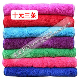 Wipe the table cloth thick double-sided small rag wipe cloth towel absorbent lint-free floor furniture glass windows car
