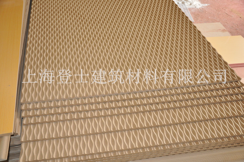 Shanghai Dengshi small Necklace pattern corrugated board background board carving board relief board art board corrugated board
