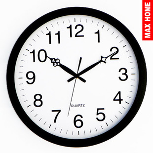 MAXHOME large living room wall clock watch European fashion simple 16 inches bedroom mute round wall clock