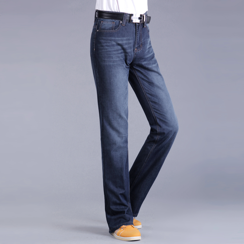 Spring and summer new products mens flared jeans high waist loose micro trumpet jeans mens jeans