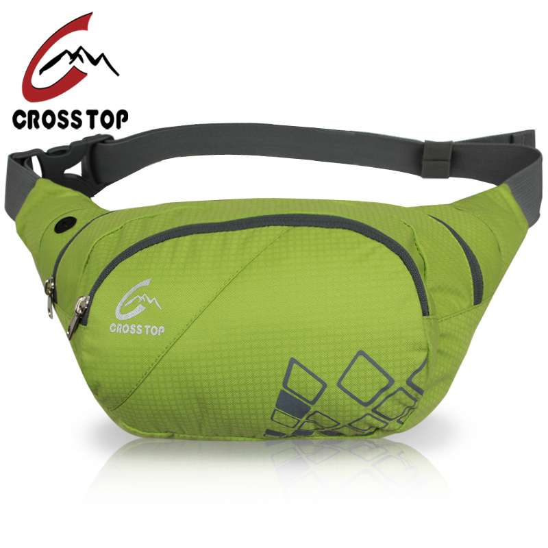 Crosstop戶外 腰包男女跑步包手機包騎行大容量旅遊大腰包
