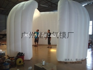 Inflatable tent outdoor advertising exhibition tent tent camping tent party tent lights