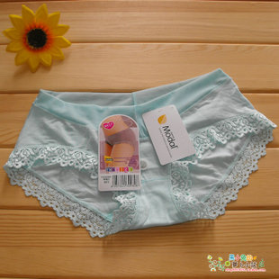 6! Daisy Girl 20980 ladies underwear modal low-waist lace V-Soft