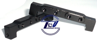 1 14 tipper truck tractor trailer dump truck black metal steering servo bracket seat shifting standards