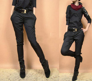 2012 new spring female Korean tide was thin in Europe and America Slim Leggings harem pants feet pants casual pants