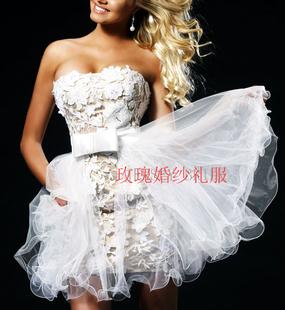 Rose Wedding Dress H874 Sexy veil can win the spot