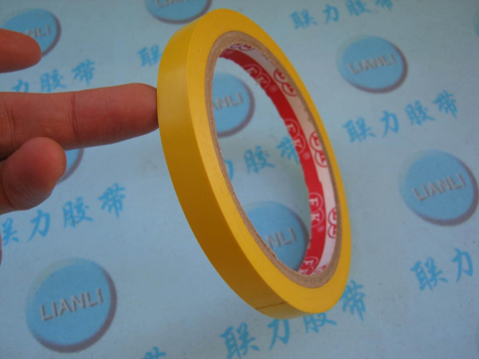 Завод оптовые продажи спец. предложение Продукты Липкая лента желтый земля панель лента желтый земля панель Пластмасса 1CM * 18M