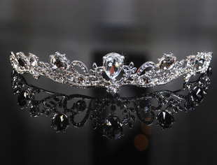 Jiani Square wedding accessories the new recommendation Continental Crown Princess Bride jewelry flash diamond alloy crown W083