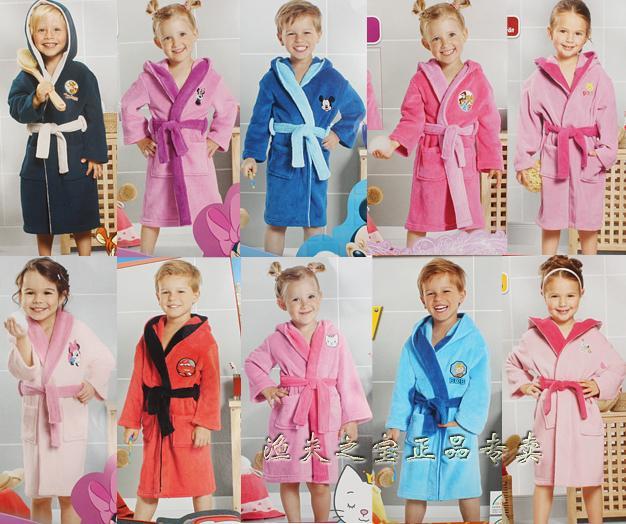 Stamp стоимость за деньги детей-иностранцев в детей пижамы младенца коралловых ватки ночной рубашке пижамы для мальчиков и девочек Одежда