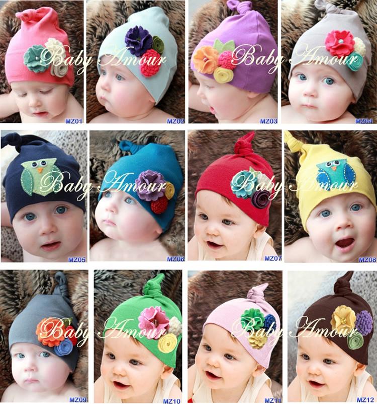 Супер милый ребенок ребенка Фото моделирования шляпы для мужчин и женщин галстук цветок шляпу ребенка шляпа