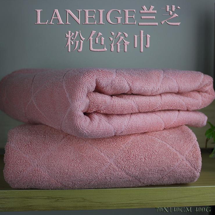 LANEIGE Lanzhi counter customized adult cotton bath towel