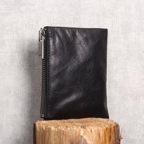 皮包原创设计钱包级胎牛皮AA真皮零钱包