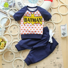 Singbail summer with the baby suit baby leisure with short sleeves out child short sleeve shorts two-piece suit men and women