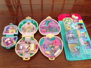 Polly Pocket Pack complete eight hundred treasures Spot US toy seal