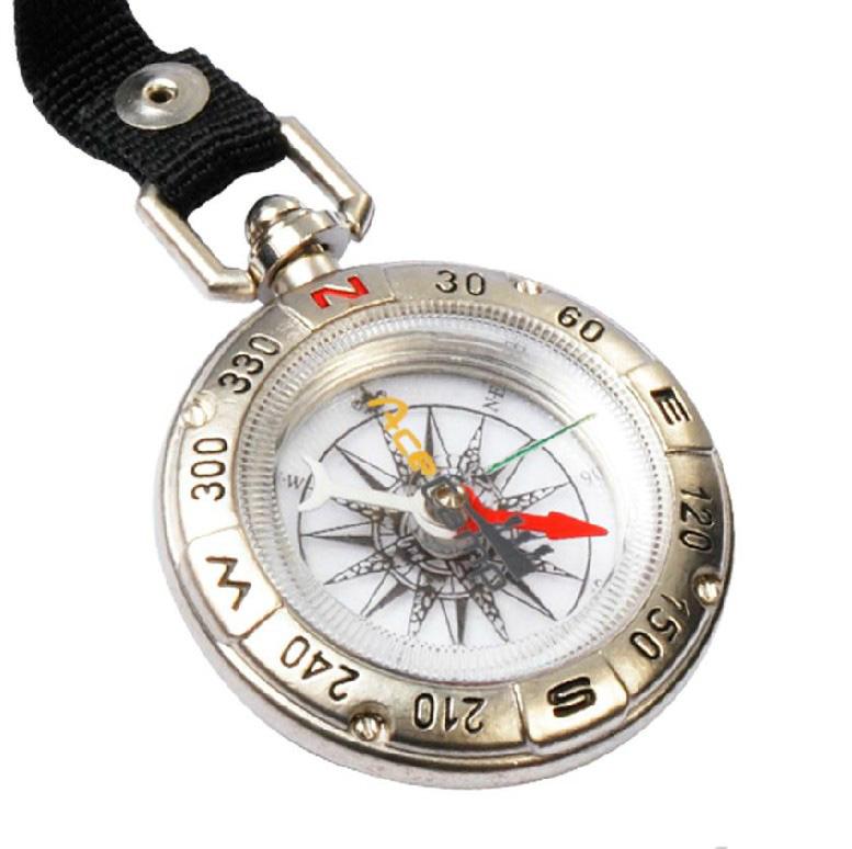 路客Acecamp海盗指南针3132户外多功能指北针指南针便携 指南针