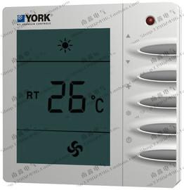 YORK约克中央空调温控器开关面板液晶风机盘管开关面板TMS2000DA