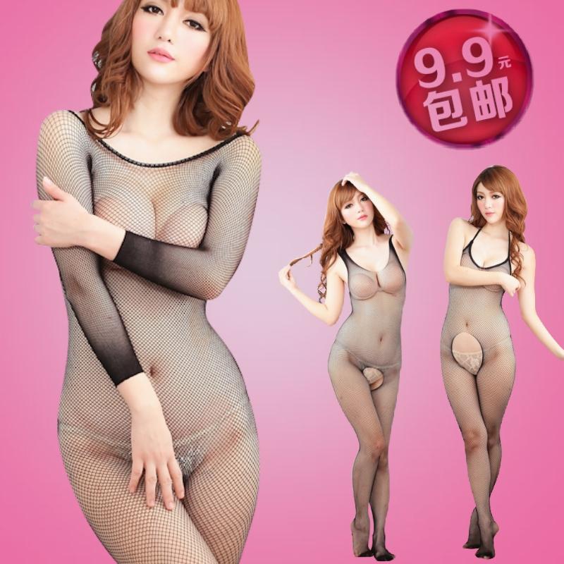 Пакеты mail! Сексуальное женское белье женщин Открытый один носок перспектива чистый плюс размер сексуальный искушение тело чулки