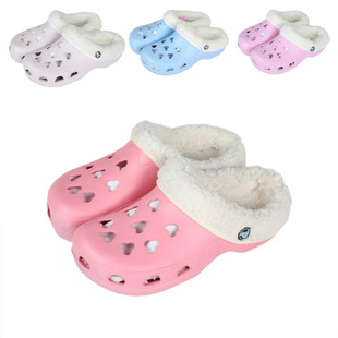 Head home lovely cotton slippers warm slippers garden shoes hole shoes dual summer and winter male and female couple winter models