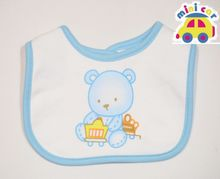 Counters authentic MINICAR car children's clothing suitable for cotton baby bib/saliva towel/shoulder