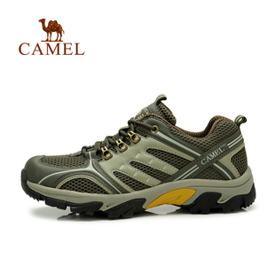 camel camel genuine spring and summer outdoor hiking shoes to help low tide lace casual men s shoes