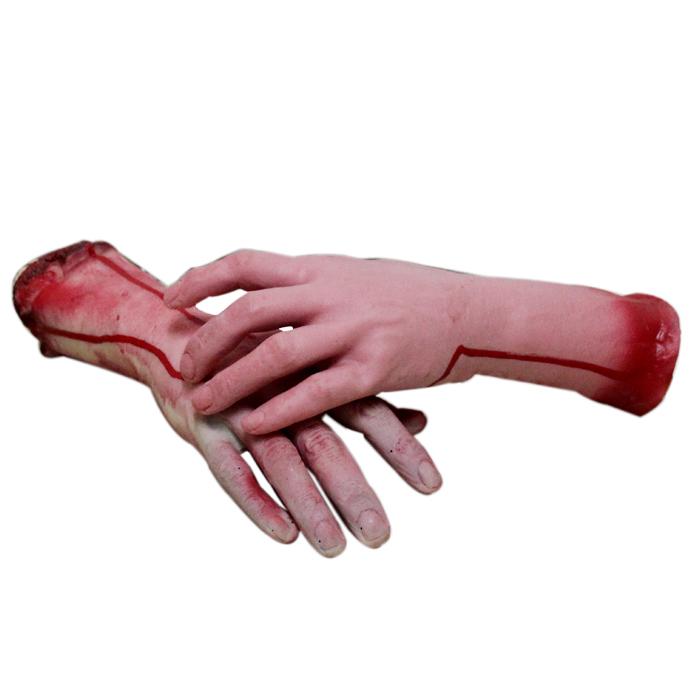 萬聖節裝飾品恐怖惡搞搞怪整蠱整人玩具道具斷肢假手血手斷手鬼屋