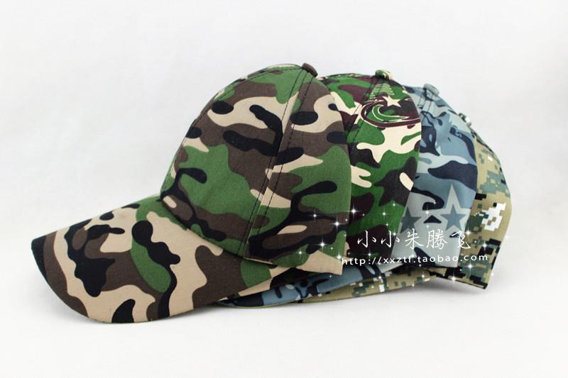 Бейсбол шляпы Дешевые оптовая новый камуфляж Cap шапки мужчин весна/лето открытый шляпа солнца