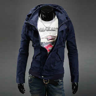 2014 new fashion tide male jacket coat jacket Korean version of the new jacket