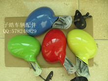 Quality goods chery QQ/QQ3 looks/rear view mirror assembly with paint single price is aluminum base