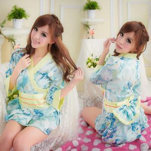 Japanese style kimono pajamas sexy costumes RPG sauna hanfu photo photography clothing uniforms temptation taste