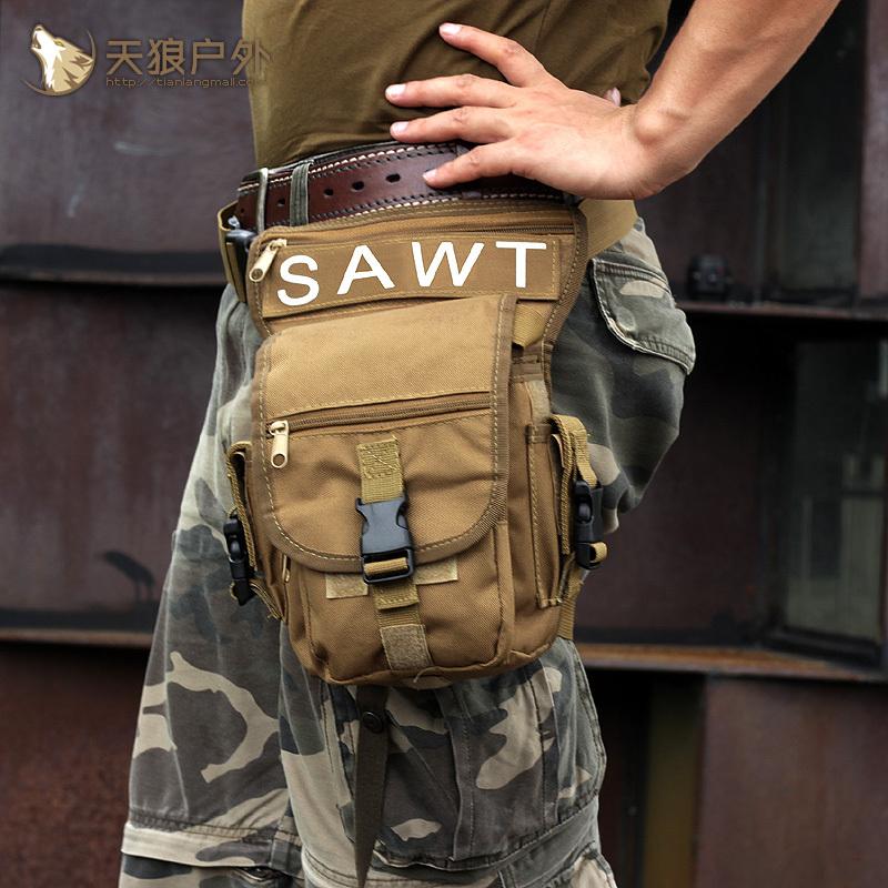 EDC Поясная сумка с креплением на бедро Тактическая Военная SWAT Киев - изображение 4.