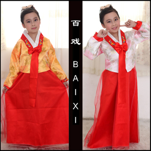Baixi Hanbok Korean children's performance clothing national stage costumes dance clothes female Children's Day